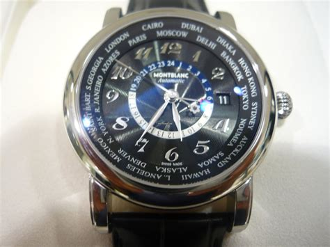 Montblanc STAR WORLD-TIME GMT AUTOMATIC für 2