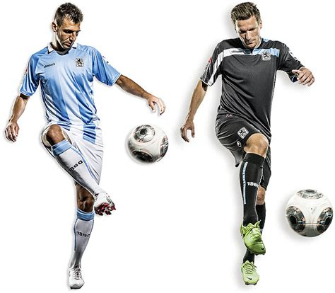 1860 München 13-14 (2013-14) Home and Away Kits Released