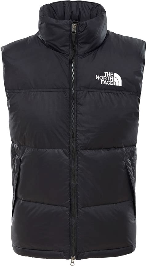 The North Face 1996 Retro Nuptse Daunenweste schwarz