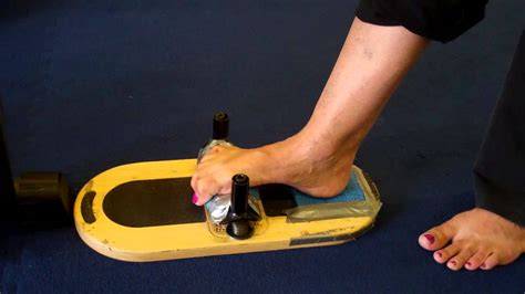 Foot Corrector Exercise Machine - YouTube