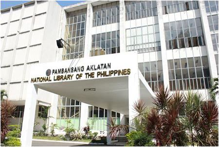 National Library of the Philippines Entrance is Now Free