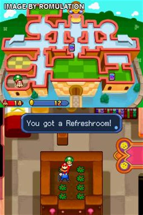 Mario & Luigi - Partners in Time (USA) NDS / Nintendo DS