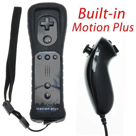 Remote Plus Built-In Motion Plus Nunchuk Silicone Case for