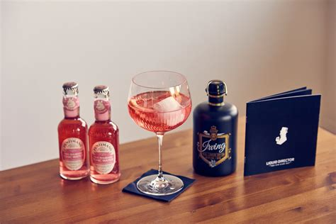 Pink Rhabarber Gin Tonic - Liquid Director Gin Guide