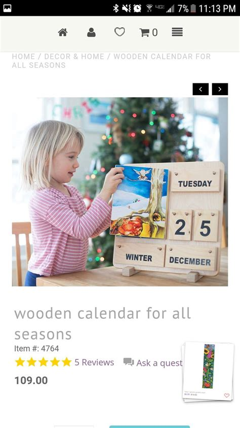 Pin by Allie Mama on Crafty Ideas   Wooden calendar, Home