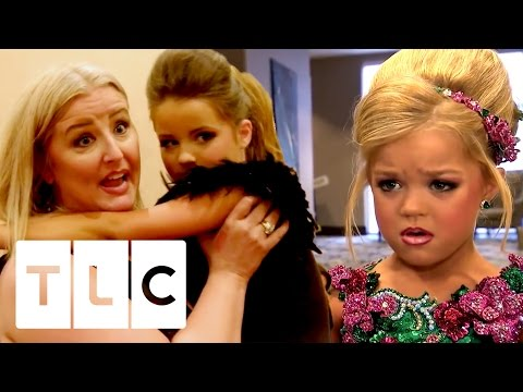 Piper Trips at Gemstars   Toddlers and Tiaras - YouTube