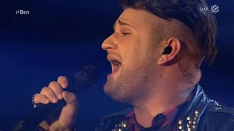Video - Ben Dettinger: Fix You - The Voice of Germany
