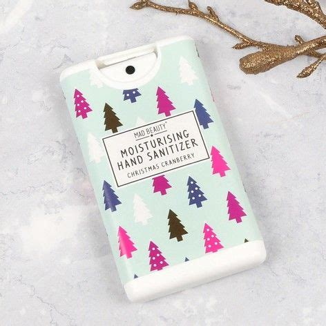 Mad Beauty Christmas Cranberry Hand Sanitiser at lisaangel