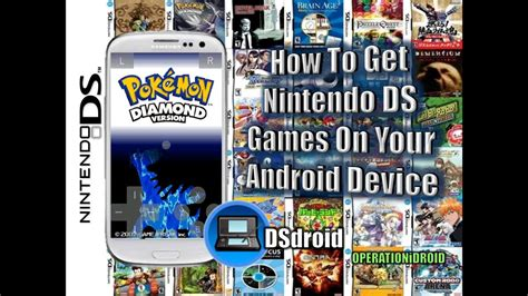 DSdroid: How To Get Nintendo DS Games on Your Android