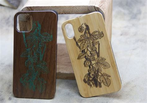 """iPhone XI Cover """"Holz-Exclusive"""" - WebShop Fredl-Design"""