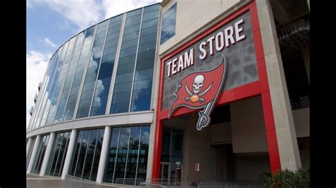 Checking Out The New Tampa Bay Buccaneers Team Store At