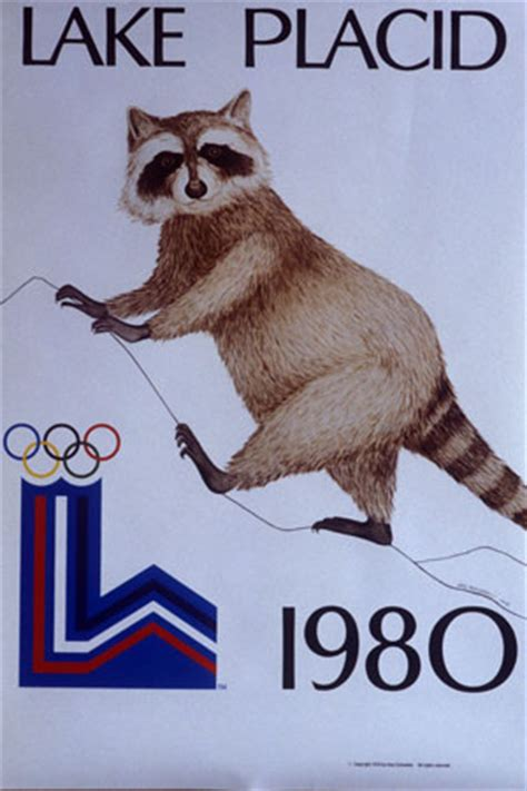 Olympia 1980 in Lake Placid: Das offizielle Plakat der