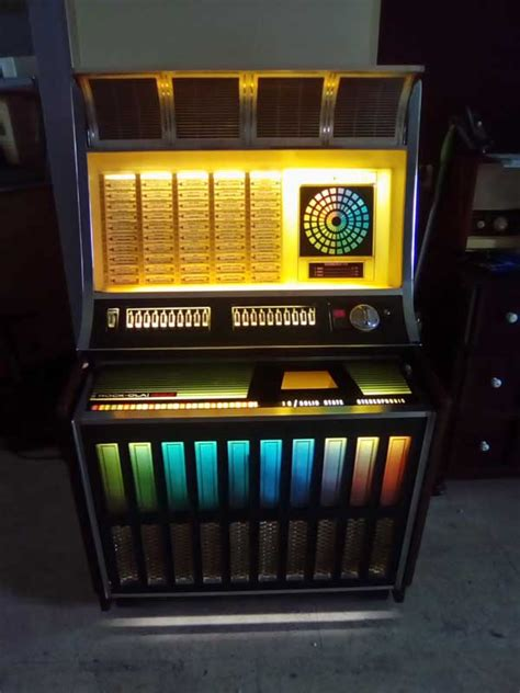 Rock-Ola 442 443 Jukebox Phonograph Musibox