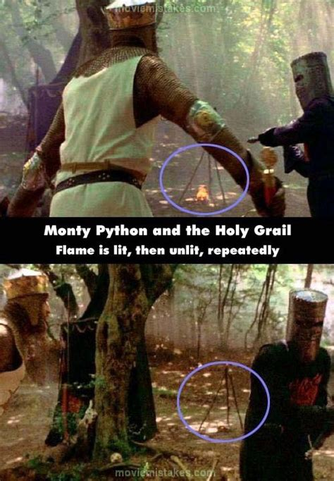 Monty Python and the Holy Grail (1975) movie mistake