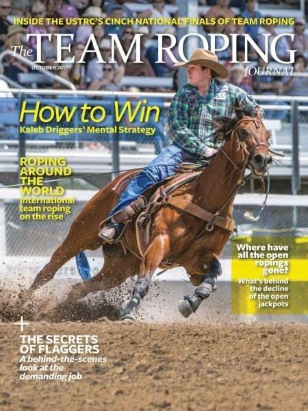The Team Roping Journal — October 2017 PDF download free