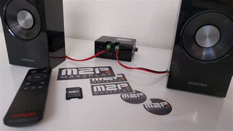 Max2Play JustBoom AMP - Raspberry Pi Audiophile Music