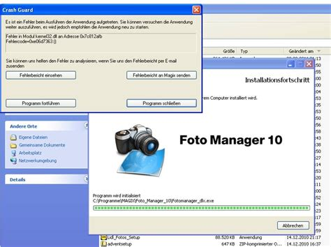 Installation Fotomanager 10