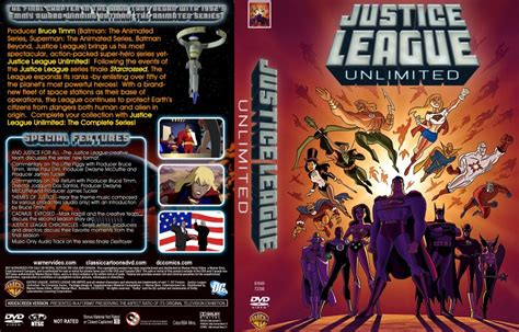 Justice League Unlimited: The Complete Series - TV DVD