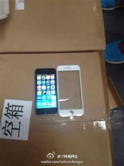 Photo of Alleged Front Panel from Larger-Screen iPhone 6