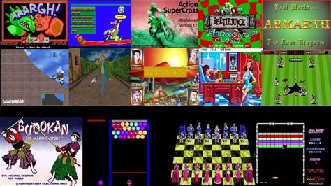 DOS Game Collections Pack A - B - Download Game PS1 PSP