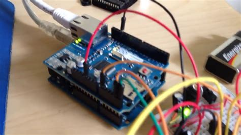 iPad TouchOSC & Arduino controlling flying fader