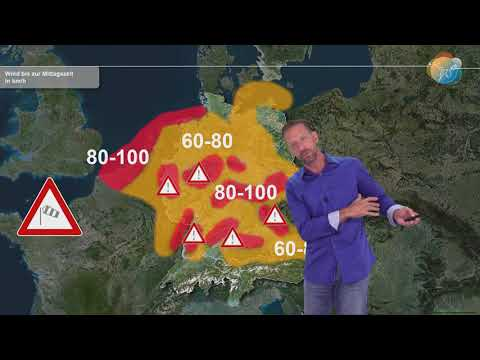 Unwetter in Magdeburg