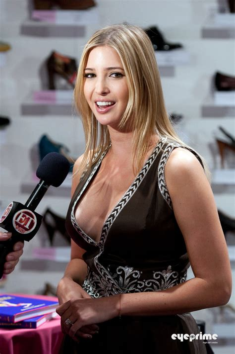 Sexy Ivanka Trump hot Cleavage wallpaper