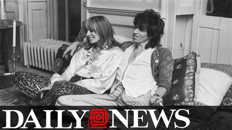 Keith Richards' Longtime Girlfriend Dead At 73 - YouTube