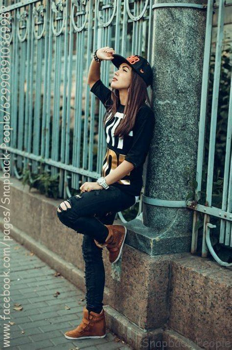 Pin by Domino on HIP HOP FASHION | Tomboy fashion, Swag