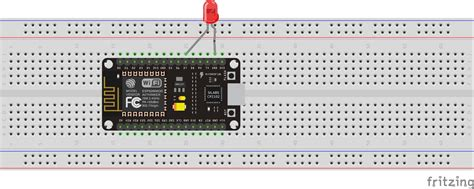 Control an LED from Webserver using NodeMcu or Esp8266