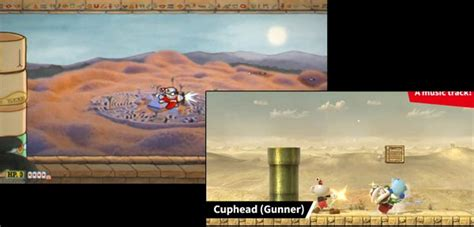 Nearly everything shown in the Cuphead Mii costume trailer