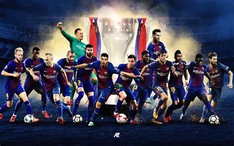 FC Barcelona Posters 2017-2018 on Behance