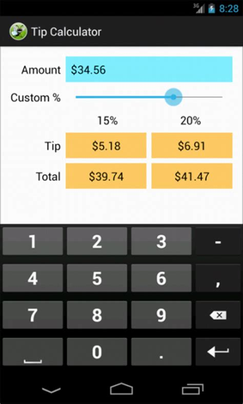 Building an Android Tip Calculator App | 3
