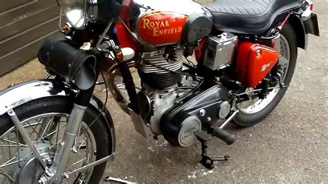 Royal Enfield with a Lightning 535 engine fitted