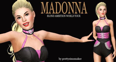 Sims and Just Stuff: Madonna -live from her Blond Ambition
