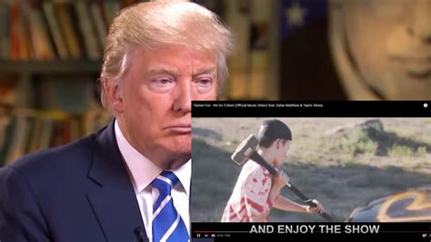 """Donald Trump Reacts to """"We Do It Best"""" by Tanner Fox"""