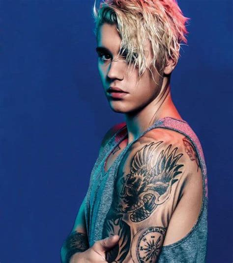 List of All Justin Bieber Tattoos With Meaning (2018