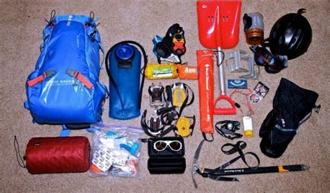 checklist-for-mountaineering-touring - VITCHELO® Products